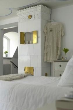 Стиль кантри в интерьере дома в Латвии.  Простой, светлый и романтичный...